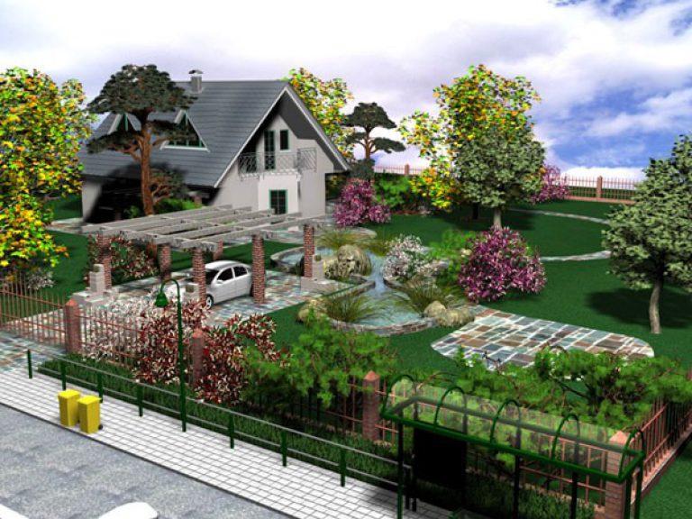 Проект своими руками сада