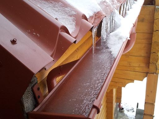 Как сделать чтобы не замерзали на крыше