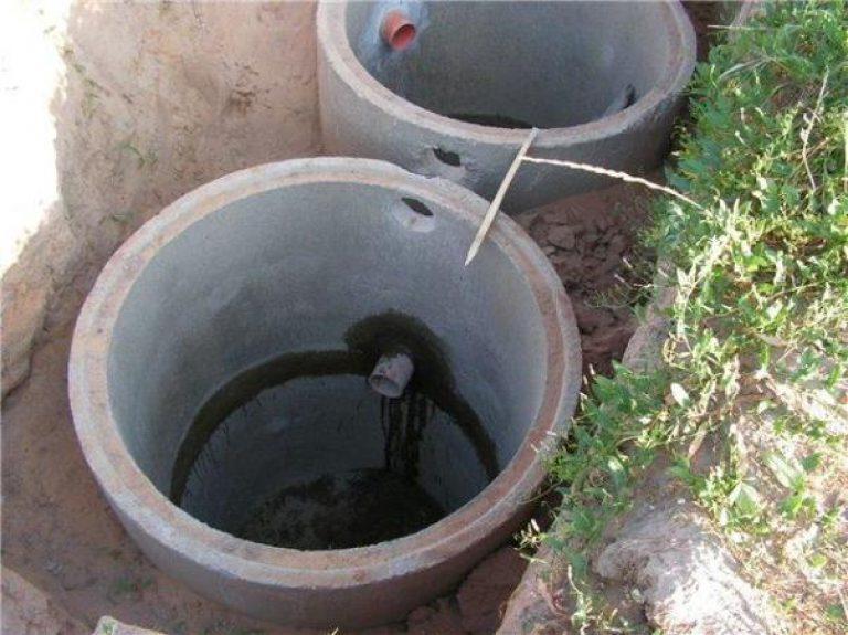 Местная канализация своими руками из бетонных колец