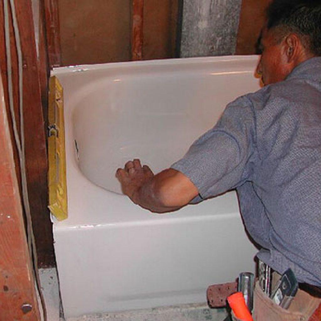 Реставрация железной ванны своими руками