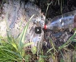 Видео: дренаж из пластиковых бутылок