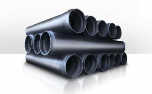 Большие пластиковые трубы для канализации