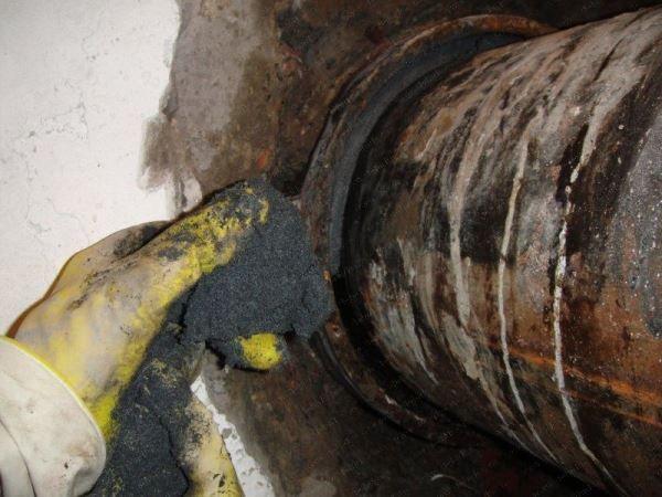 Эпоксидная смола для канализационных труб