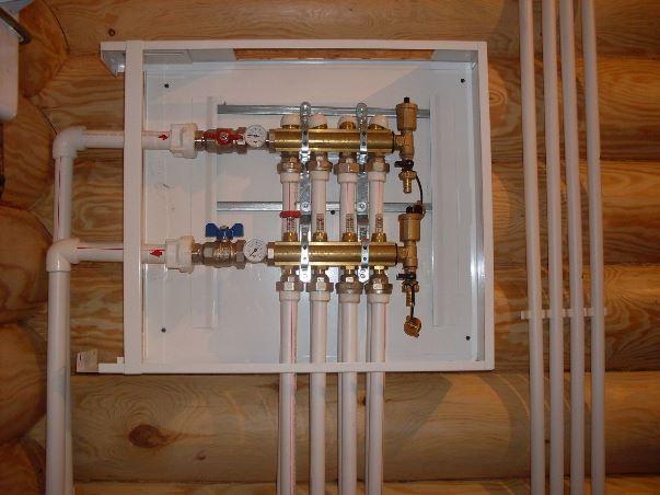 Система отопления из полипропиленовых труб