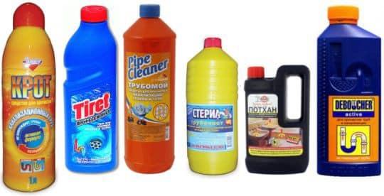 химические средства для пробивки