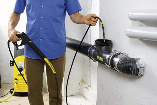 Установка для домашней гидродинамической прочистки труб