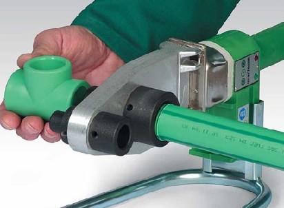аппарат для пайки пластиковых коммуникаций