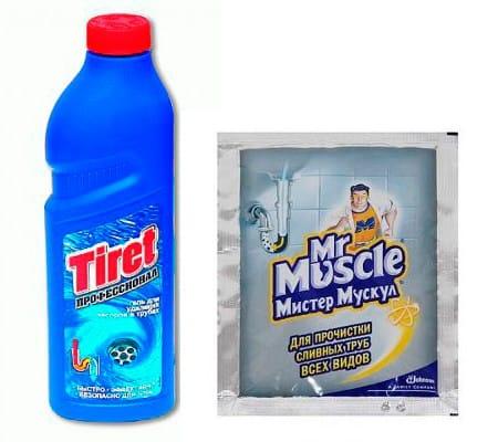 подручные средства для чистки