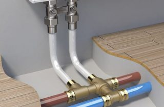 разводка канализации из металлопластика