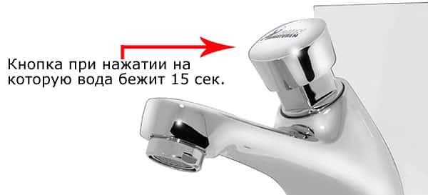 нажимной водопроводный механизм