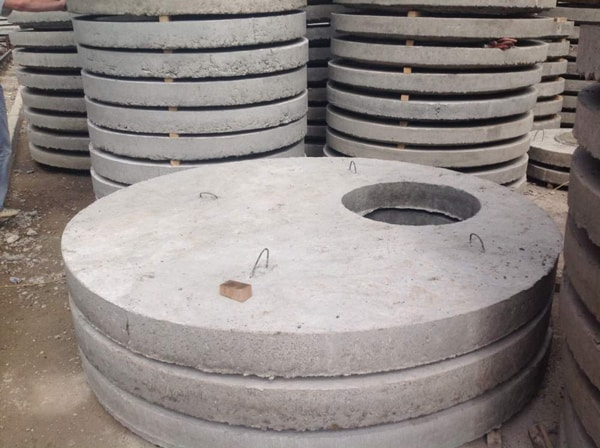 Кольца под бетонные крышки