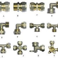 Фитинги для металлопластиковых труб – виды, как производить соединение