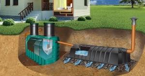 Дачная канализация автономного типа