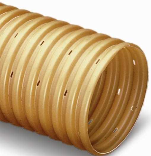 Перфорированная труба производителя Рувинил
