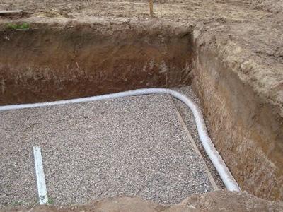 Подготовка пластовой водоотводящей системы