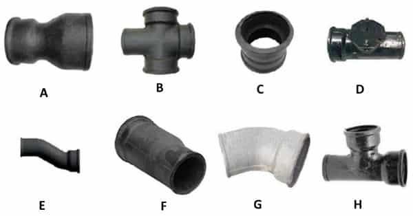 Фасонные части для систем канализации
