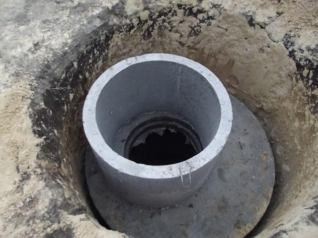 Цилиндрическая яма