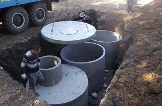Выгребная яма из бетонных колец: пошаговая инструкция строительства