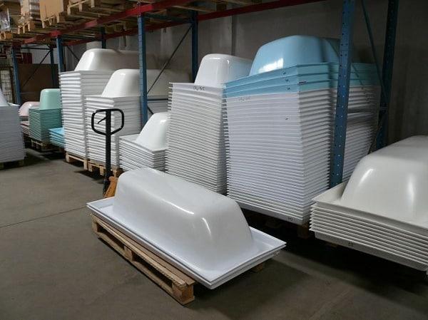 Производство акриловых вкладышей