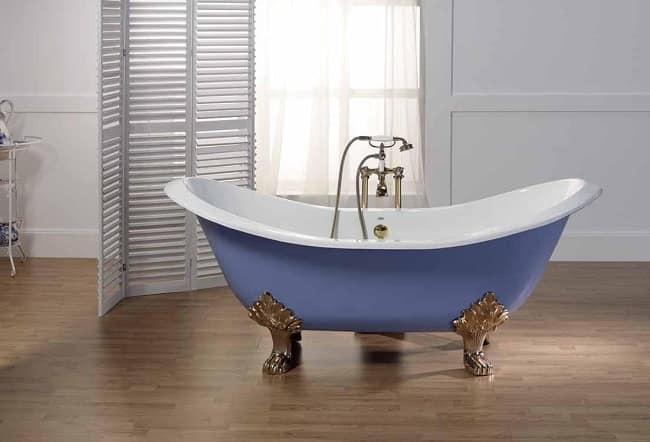 Чугунная отдельностоящая ванна