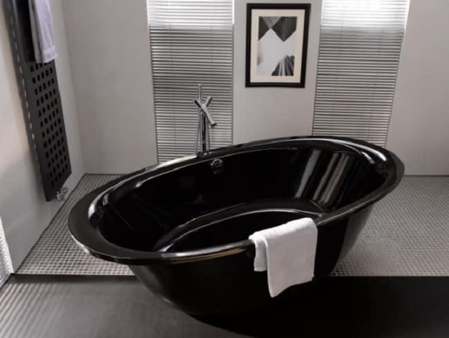 Цветная эмаль на стальной ванне