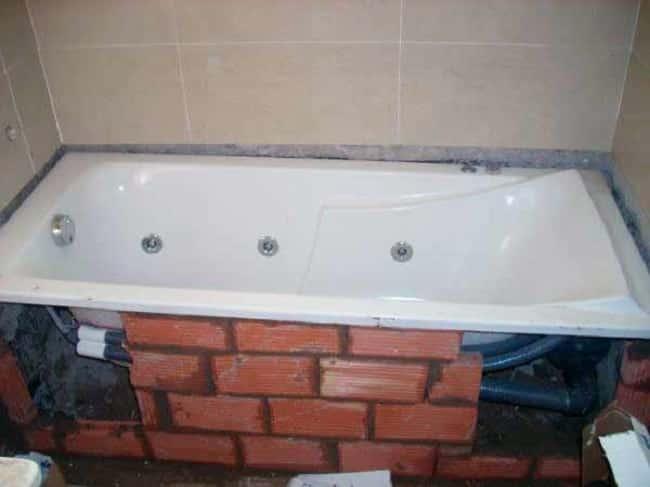 Инструкция по установке ванны чугунной