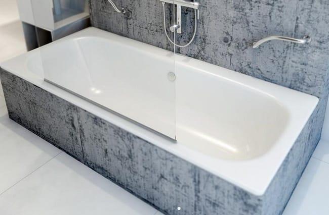 Стальная ванна с акриловым покрытием