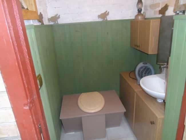 Установка сиденья на туалет