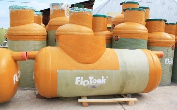 Стеклопластиковые жироуловители Флотенк