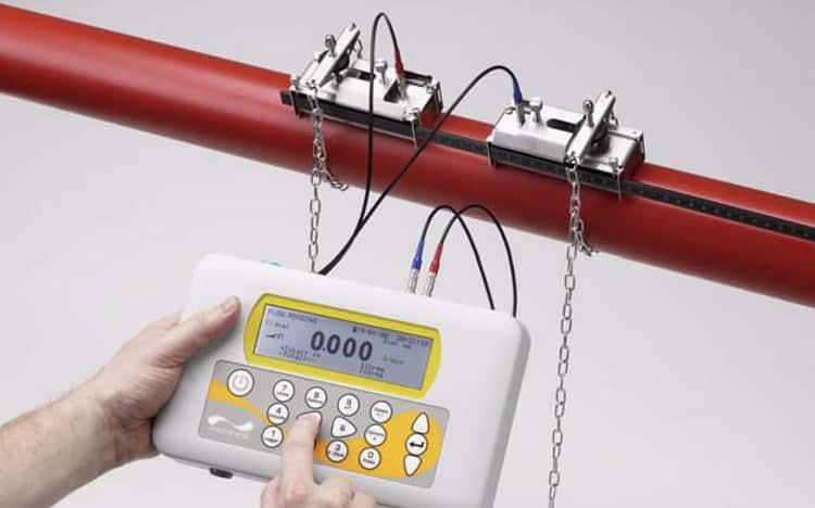 Ультразвуковой переносной расходомер