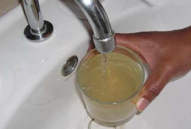 Вода из скважины необорудованной фильтром