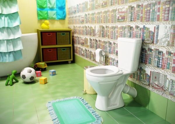 обустройство туалета для детей