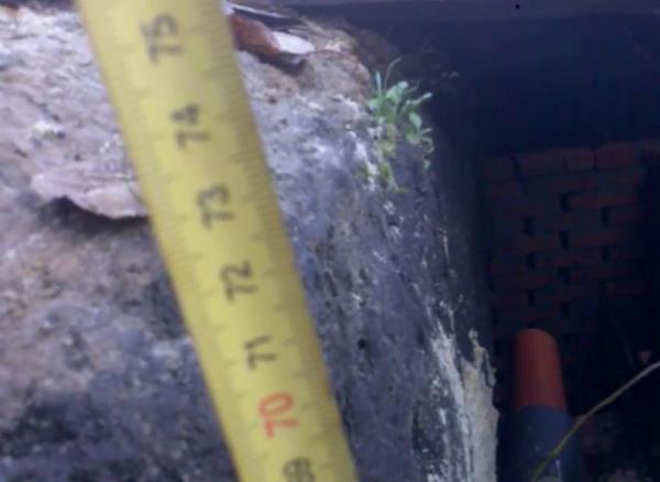 расстояние заложения труб канализации