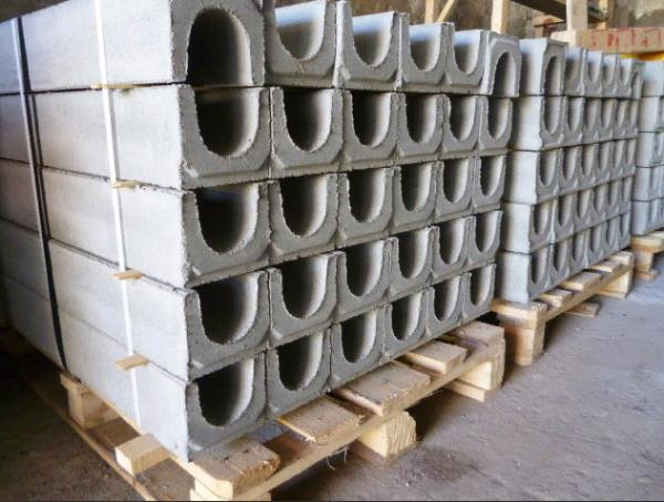 лотки бетонный водоотводные
