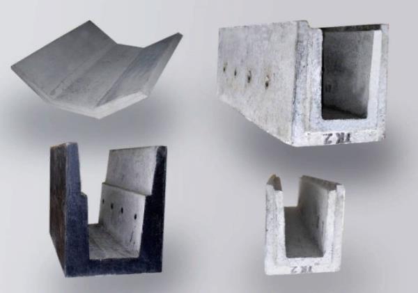 типы водоотводных бетонных лотков