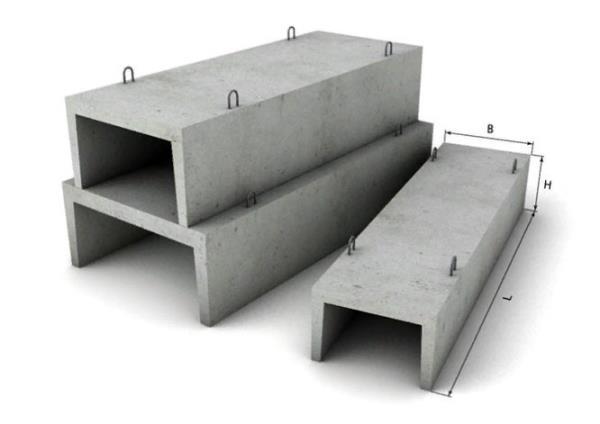 водоотводные лотки из бетона