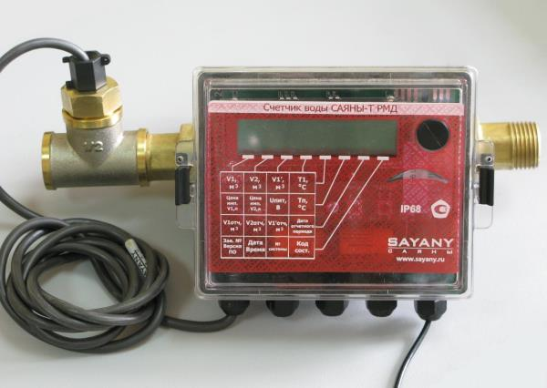 счетчик воды с термодатчиком