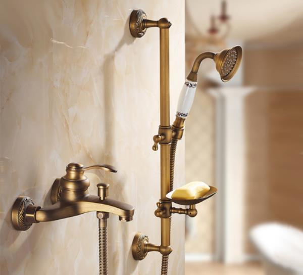 смеситель с душем для ванной