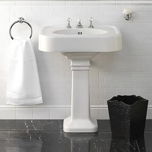 подключаем раковину в ванной