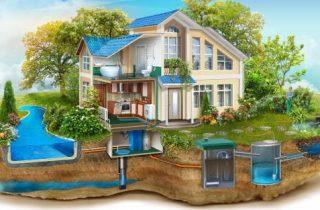 загородная канализация