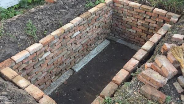 яма для загородной канализации