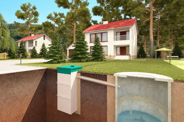 организация автономной загородной канализации