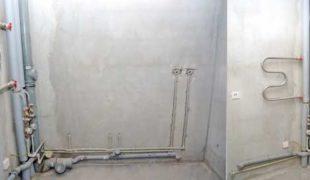 ремонт канализационного стояка