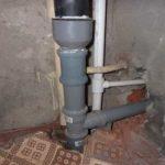 канализационный стояк