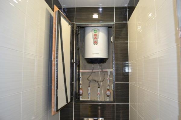 Четыре способа спрятать трубы канализации в жилом помещении