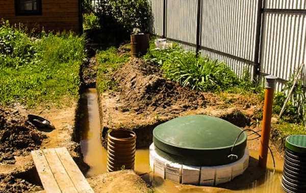 Монтаж септика при высоком уровне грунтовых вод – требования и особенности