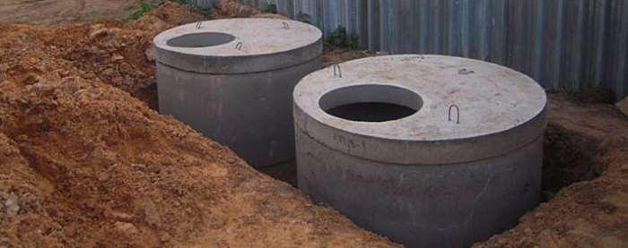 жб колодец канализационный