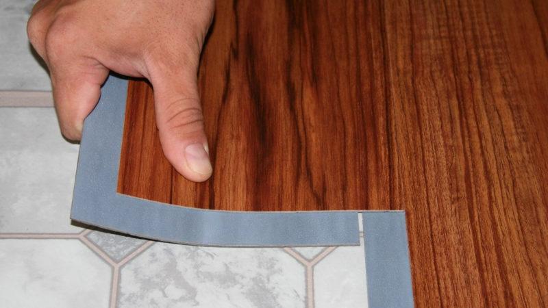 Технология укладки плитки ПВХ на пол