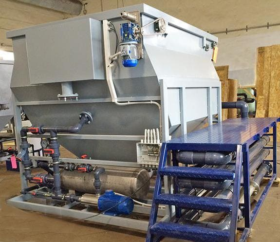 Флотатор для очистки сточных вод